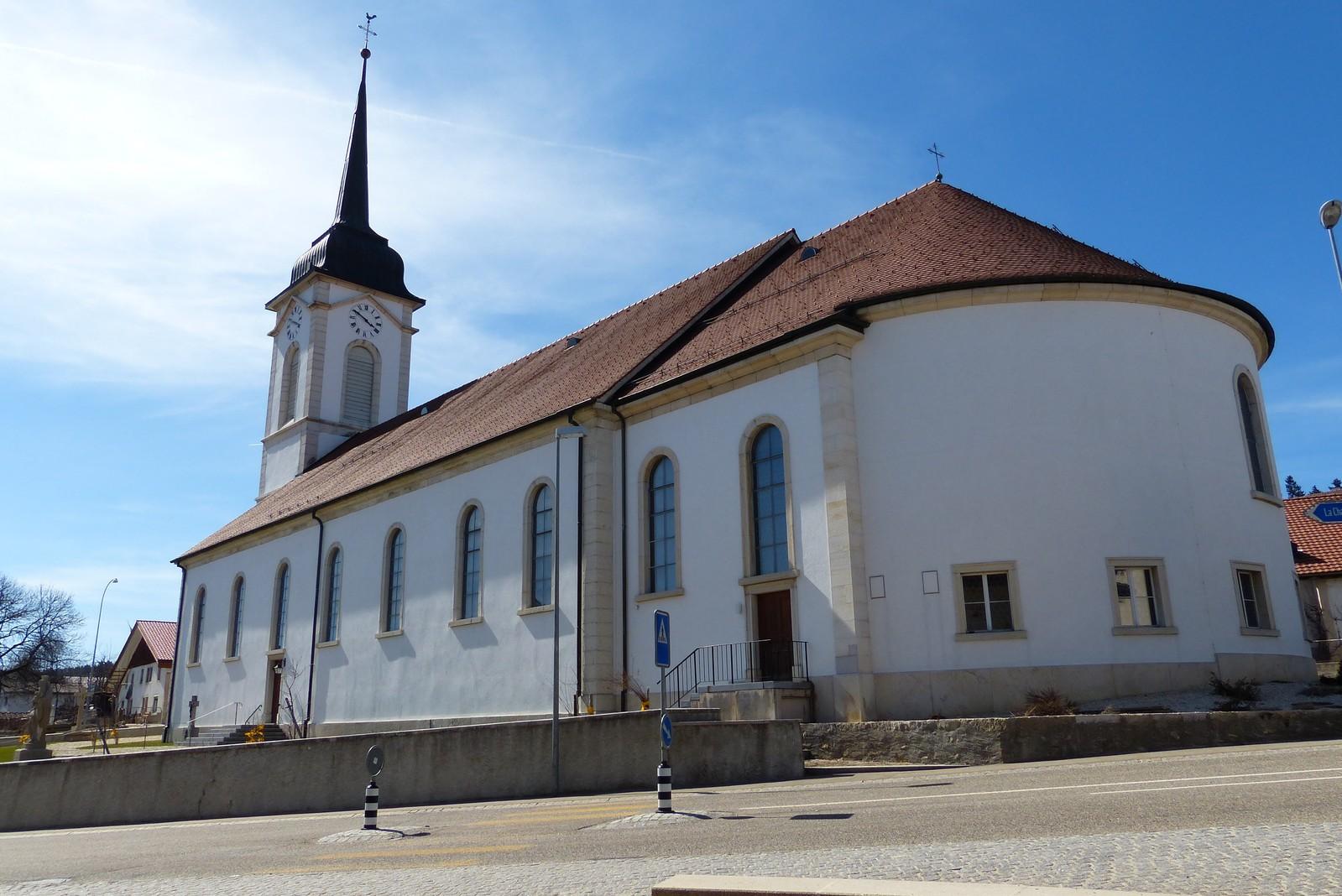 une vue de la faaade ouest. Photo Ancienne église Avant Travaux Façades Une Vue De La Faaade Ouest